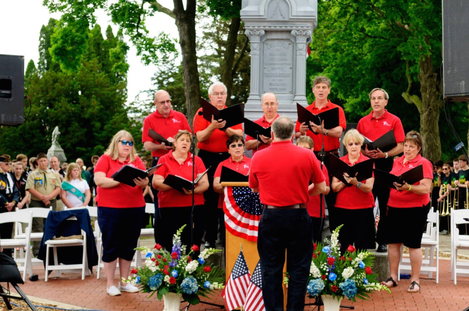 Viva Voce at Memorial Day Ceremony